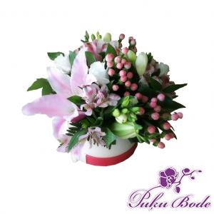 Ziedu karbiņa mix ziedi Cena 25eur piezīmēs Ziedu kārbiņās ir iespēja arī pēc Jūsu vēlmēm ko mainīt ,iepriekš sazinies.